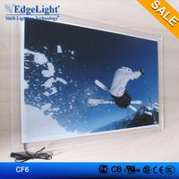 Outdoor Good Quality 12V Crystal Advertising Slim LED Light Box advertisement board