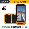 Enjoy W101 IP67 4G LTE android 4.4 waterproof gsm mobile phone with walkie talkie
