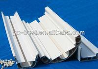 Dual wall 5.2 inch PVC rainwater gutter