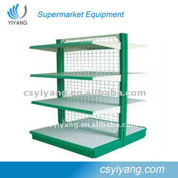 top sale wal-mart supermarket exhibition mesh shelf