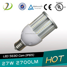 IP64 waterproof clear milky cover outddor 360 degree led bulb warehouse samsung 5630smd ul/ce/rohs 360 degree led bulb