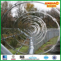 Concertina Cross Razor Wire ( 29 years manufacturer )