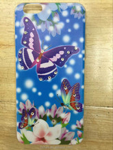 Wholesale new product ultra thin tpu printing phone case for iphone6/6plus, beautiful shinning diamon case
