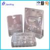 Plastic clamshell blister box