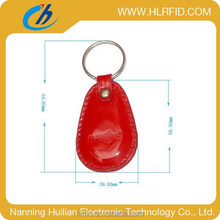 Leather Cheap RFID fobs for access management