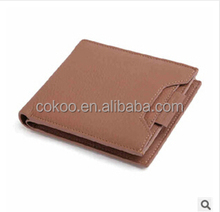 New arrive Genuine leather 2015 best men wallet brands/men purse/fashion men bag