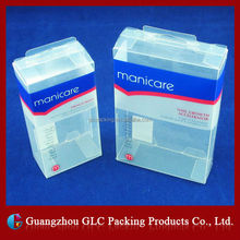 Custom Foldable Small Rectangular Plastic Transparent Box/Clear Packaging Gift Plastic Box