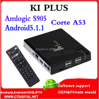 K1 Plus amlogic s905 quad core tv box 4K Ultimate HD Android 5.1 Lollipop amlogic s905 android 5.1 smart tv box