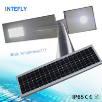 40w portable solar lamp with 70w sunpower solar panel