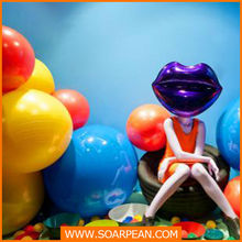 color fantasy balloon prop decoration for shopping mall