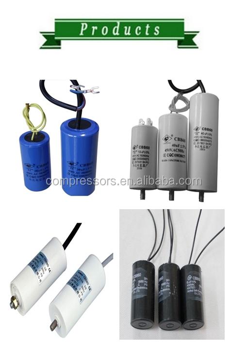 Refrigeration Compressor Ac Capacitor Aluminum