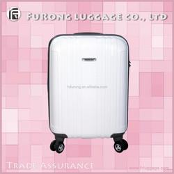 white travelmate beautiful luggage suitcase