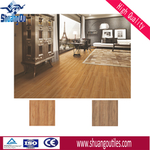 new 3d wood look ceramic floor tile wholesale price 600x600mm for floors, walls, 6678
