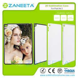 2D PC blank costomized printable sublimation case for iPad Air 2