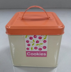 High Qualitytea square Cooking can coffee can bin