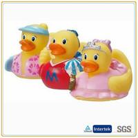 Custom various dress cute toy little duck