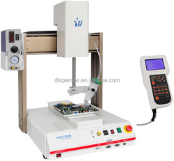 CE Approved Desktop Full Automation Dispensing Robot Used in Laptop Battery