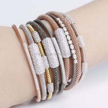 Wholesale Stainless Steel Handmade Ladies Charm Bracelet Jewelry Collection