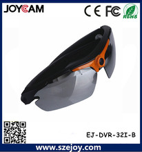 Cool moda gafas de vídeo cámara, grabación profesional, grabación de vídeo hd gafas de sol