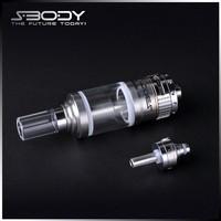 Sbody glass tube Astral tank e cigarette vaporizer 510 spring loaded thread