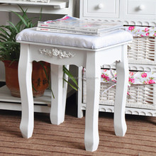 MDF Dresser Table Chair with Sponge Cushion