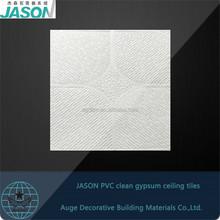 low price 238 Jason pvc gypsum ceiling tiles/boards