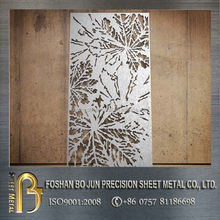 China suppliers new sheet metal products customized living roon decorative laser cut screen