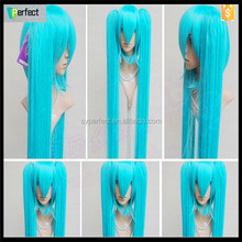 Magical girl grey mix blue bleach cosplay wigs stock