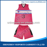 sublimated reversible womens basketball uniform design Basketball Jerseys and Uniforms