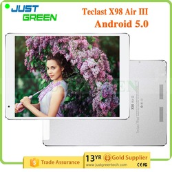 2015 low price Teclast pc tablet X98 Air III pc 9.7 inch pc In tel Z3735F quad cores 2GB 32GB Android 5.0 best tablet pc
