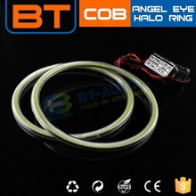 60mm 80mm White/Yellow Single Color COB Halo Ring Wireless Led Angel Eye