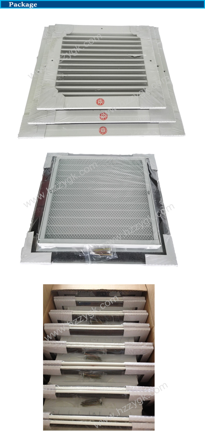 Linear Diffusers Hvac : Aluminum powder coated air linear grilles diffuser in hvac