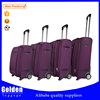 best selling 4pcs luggage set soft nylon trolley suitcase set custom designer luggage suitcase set