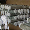 Low price diamond shaped playground chain link fence/pvc coated chain link fencing from HeiBei factory