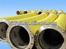 Suction and discharge floating dredging hose