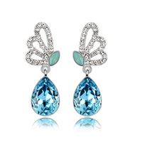wholesale china national flavor jewelry gold earrings 2013 new design