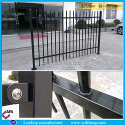 bending fence/wrought iron fence finials/steel security window fence