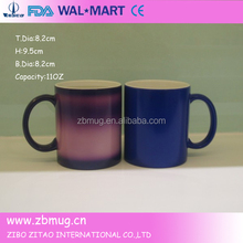 hot selling 11oz snowman gift christmas ceramic coffee mug