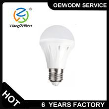 Factory price AC100-240V 5w led bulb E27 base for house
