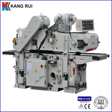 Plain cutter or spiral cutter wood double side thickness planer machine
