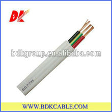 450/750V SAA Standard two core2*4mm+E(2.5mm2) Flat TPS Cable, 2x2.5mm2 Copper PVC Insulation Flat TPS Cable, China Manufacturer
