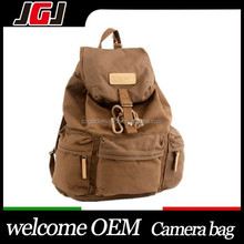 Waterproof DSLR SLR Camera Canvas Backpack For Canon 450D 550D For Nikon D2 D4 For Sony A7S A7R