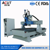 Italy HSD 9kw spindle CNC router ATC cnc wood carving machine