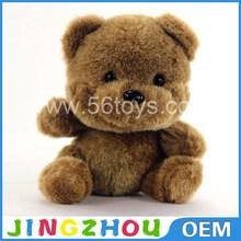 Bonito feito sob encomenda macio brown urso de pelúcia barato atacado teddy bear mini da China