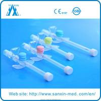 Disposable safety i v supplies iv catheter