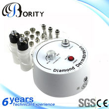Punta di diamante dermoabrasione sabbia pompa di aspirazione acne& spot rimozione macchina dermoabrasione a cristalli