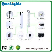 camping using high brightness low price dp led rechargeable emergency light