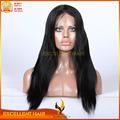novos produtos 6a alta qualidade mulheres negras brasileiro cabelo peruca cheia do laço