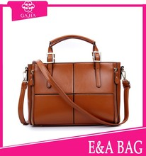 2015 latest popular elegant Lady handbag factory wholesale dual purpose women designer handbags from China