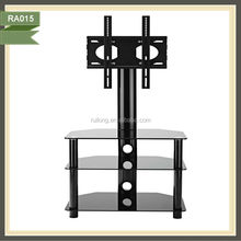 cheap flat screen free standing right- angle led tv stand